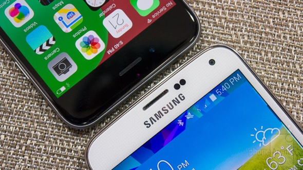 Apple-iPhone-6-vs-Samsung-Galaxy-S5