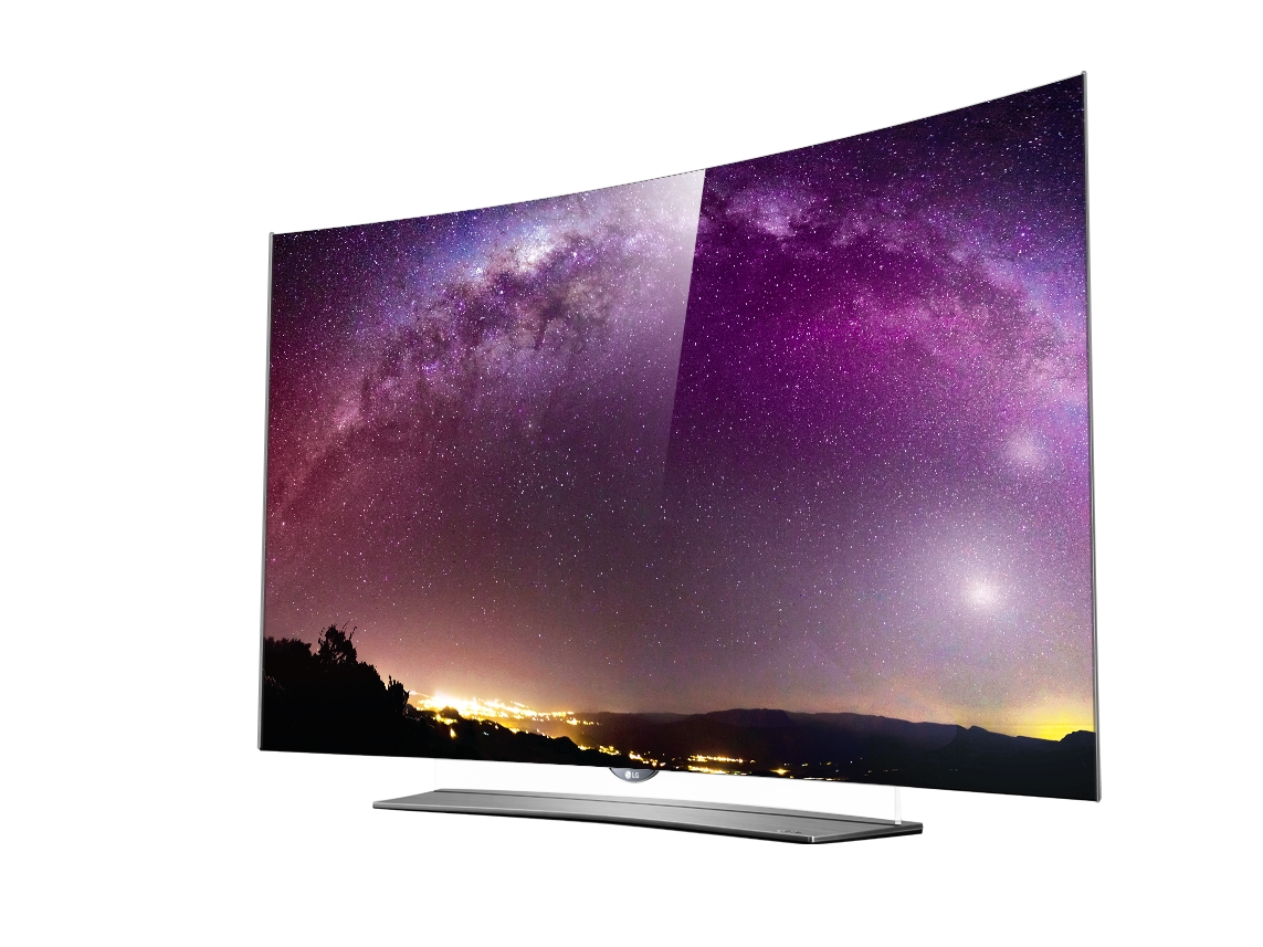 ces 2015 lg stellt neue curved oled fernseher vor. Black Bedroom Furniture Sets. Home Design Ideas