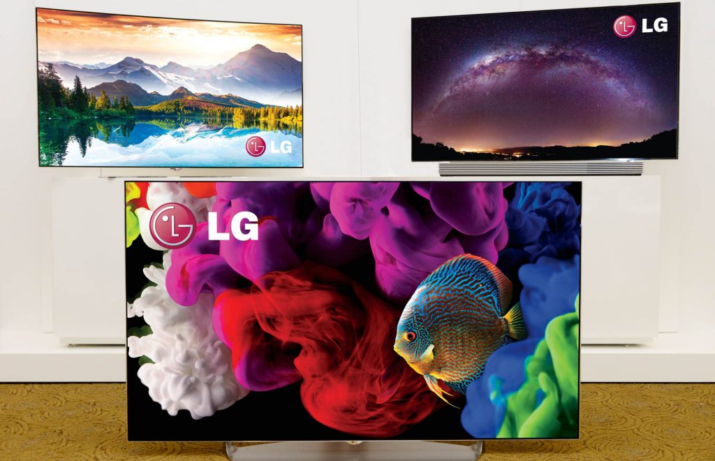 CES 2015: LG stellt neue Curved-OLED-Fernseher vor