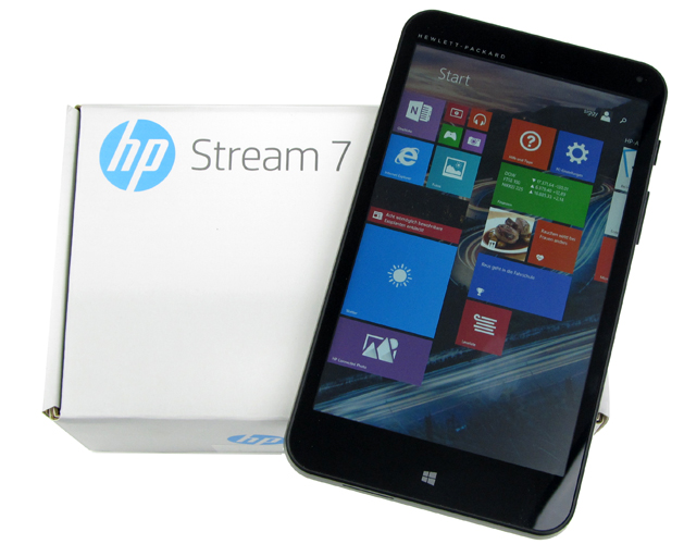 stream 7 windows tablet mit 7 zoll von hp. Black Bedroom Furniture Sets. Home Design Ideas