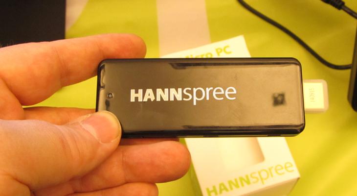 Hannspree zeigt Micro-PC mit 38 Gramm und Windows 8.1 auf der CeBIT PreView
