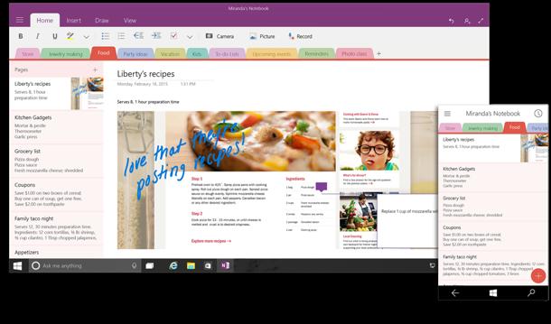 Microsoft zeigt neues Office für Windows-10-Smartphones und -Tablets