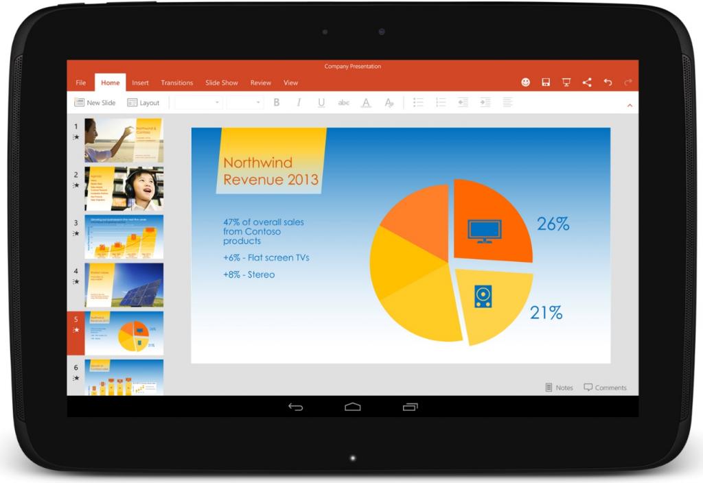 Microsoft Office künftig auf diversen Android-Geräten vorinstalliert