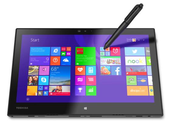 CES 2015: Toshiba zeigt die Surface-Pro-Alternative Portegé Z20t