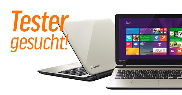 Tester gesucht: Gaming Notebook Toshiba Satellite L50-B-TD mit Core i7 und AMD-Grafik
