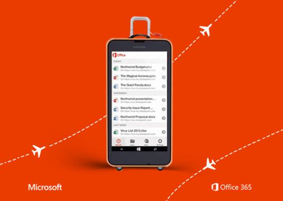 Erster Screenshot des neuen Office für Windows-Phones gesichtet?