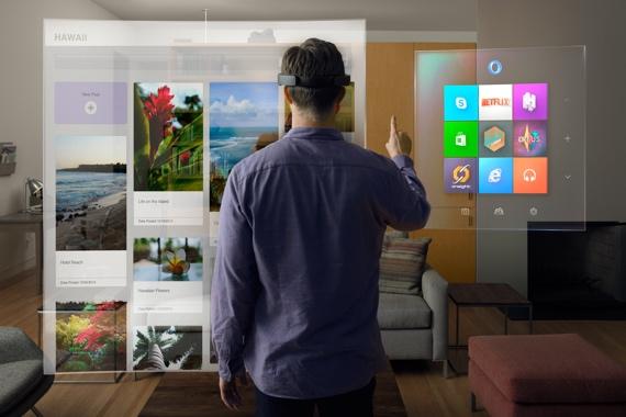 Microsoft überrascht mit Windows Holographic und HoloLens-Headset