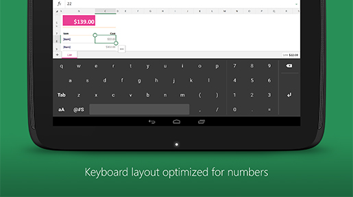 keyboardforexcel_screenshot_2