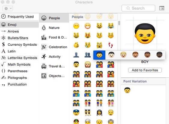 Apple führt neue Emoji mit unterschiedlichen Hauttönen ein