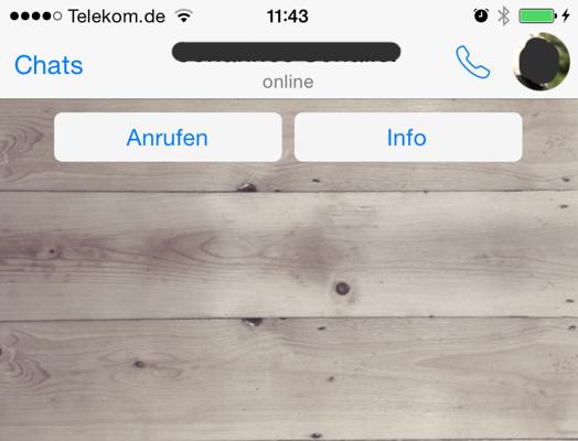 whatsapp_iOS_Telefonie