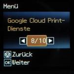 Verbinden mit Google Cloud Print