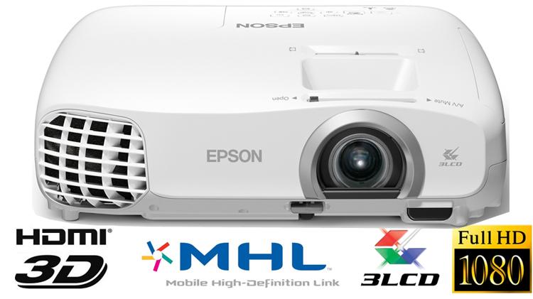 Epson EH-TW5100: Full-HD-Beamer mit 3D-Unterstützung im Test
