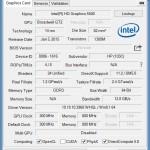 GPU-Z: Angaben zur Intel Grafik