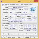 CPU-Z: Angaben zum Prozessor