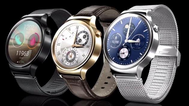 MWC 2015: Huawei zeigt die bislang schickste Android-Wear-Smartwatch