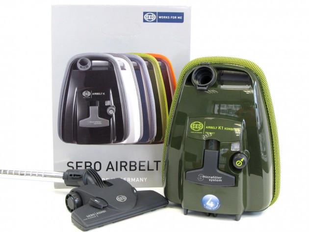 Sebo Airbelt K1 Bodenstaubsauger - K1-Aufmacher