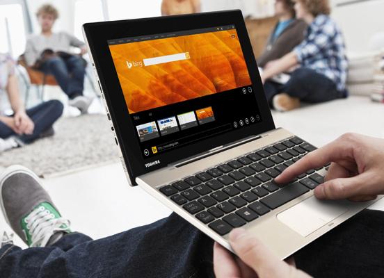 Unterwegs mit Toshiba: Produktvorstellung vom Portégé Z20t und Satellite Click Mini