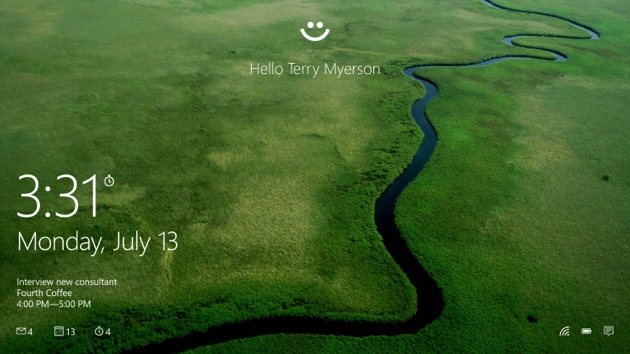 Windows Hello: Microsoft macht das Passwort mit Windows 10 obsolet
