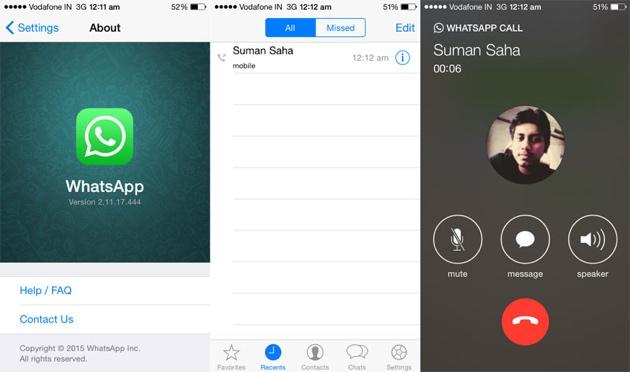 WhatsApp: Telefonie-Funktion auch für iOS-Nutzer im Anmarsch