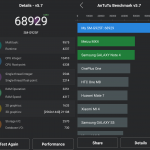 AnTuTu Benchmark Samsung Galaxy S6 Edge
