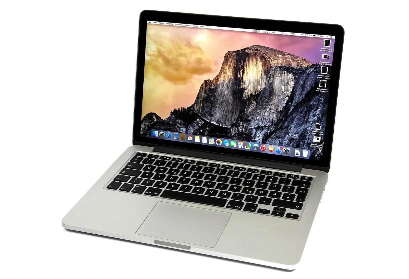 im test apples macbook pro 13 mit force touch. Black Bedroom Furniture Sets. Home Design Ideas