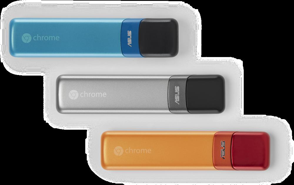 Chromebit: Asus und Google präsentieren HDMI-Stick mit Chrome OS