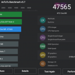 Benchmark HTC One M9 AnTuTu 5.7