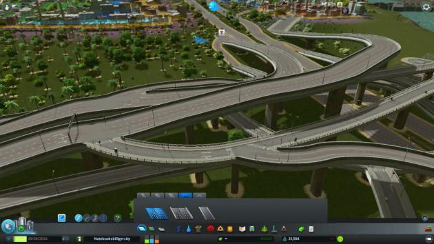 In 200 Metern auf Ausfahrt voraus fahren. Dann links halten. Wer sagt, dass Straßen nur zweidimensional sein müssen?