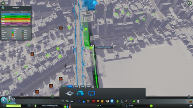 Eine der wenigen Stadtverbesserungen (fast) ohne Bulldozer-Vorarbeit: Die U-Bahn ist schnell angelegt.