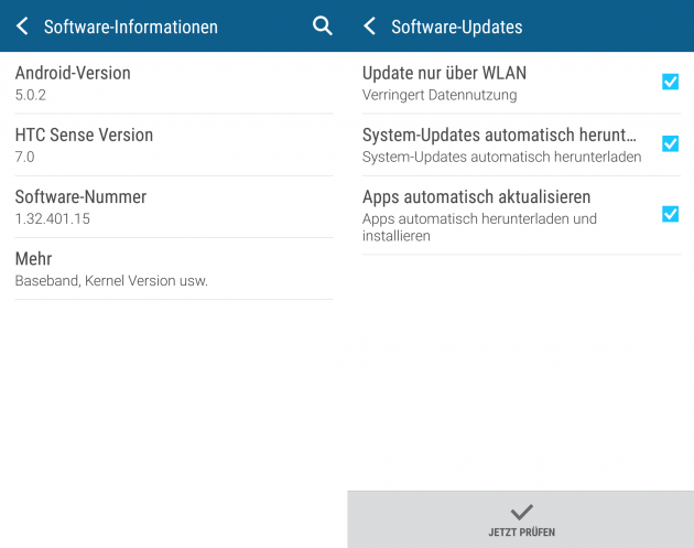 Firmware Update HTC One M9