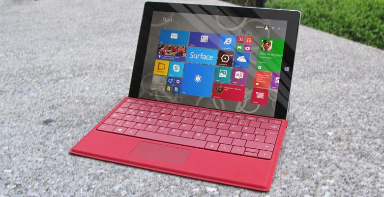 Erste Eindrücke vom Microsoft Surface 3 Tablet