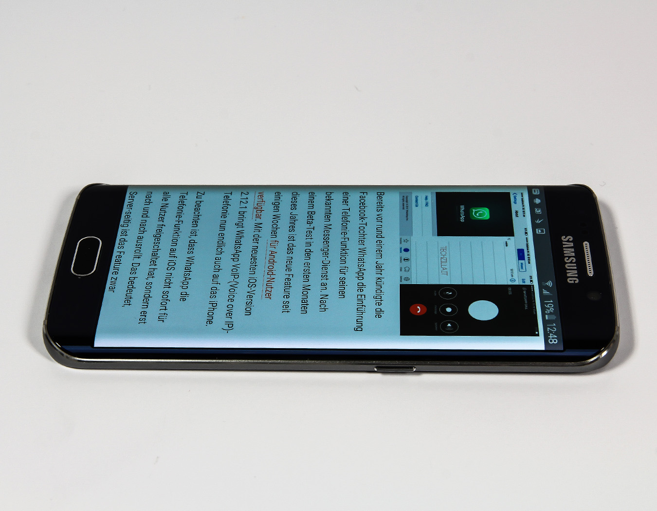 Vergleichstest Samsung Galaxy S6 Und S6 Edge