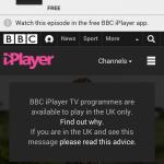 Durch die richtige Tür kommen: Von Deutschland aus bleibt einem das BBC-Angebot versagt.