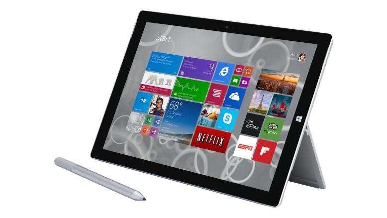 Surface Pro 3 und Surface 3 – Ein Vergleich