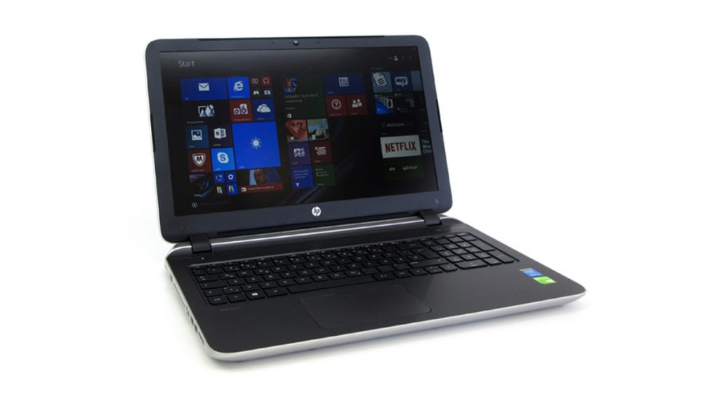HP Pavilion 15-p206ng: Multimedia-Notebook mit starker Hardware und mattem Full-HD-Display im Test