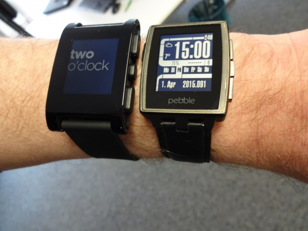 Pebble vs. Pebble