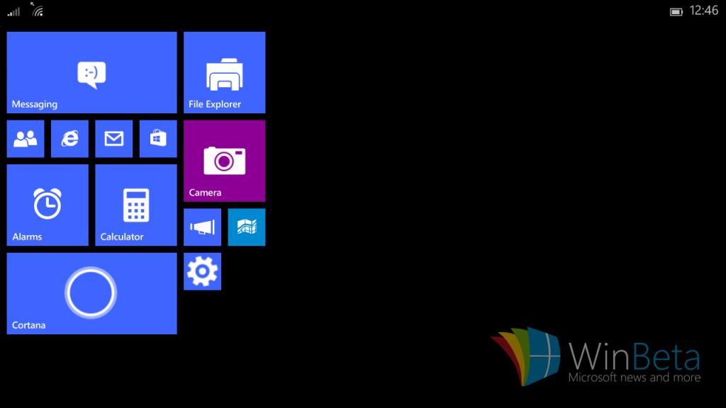 Windows 10 für Mini-Tablets: Erste Screenshots zeigen die Benutzeroberfläche