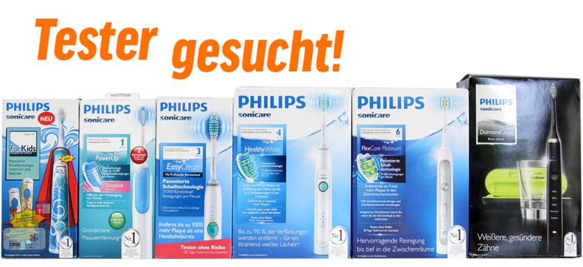 Philips Sonicare im Selbsttest [Tester gesucht] – Zähne putzen mit 31000 Schwingungen pro Minute