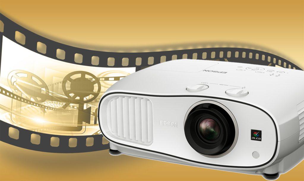 Wie im Kino: Epson EH-TW6600W 3D-Projektor mit Full-HD, WirelessHD und LensShift