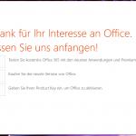 MS Office 365 als Testversion