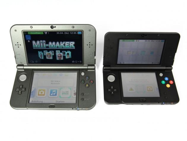 Nintendo 3DS XL Vergleich