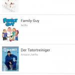 Benachrichtigungsliste Android App