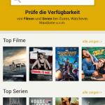 Übersicht Android App