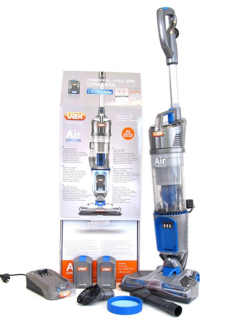 [Tester gesucht] VAX U86-AL-B-E Air Cordless – Kabel- und beutelloser Staubsauger