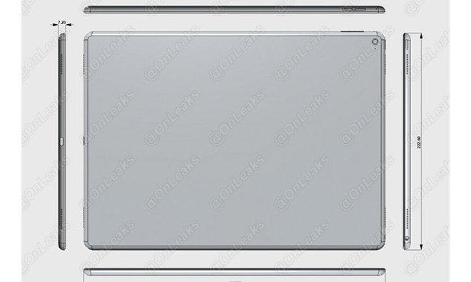 Apple: iPad Pro soll Bluetooth-Stylus, Force Touch und NFC unterstützen