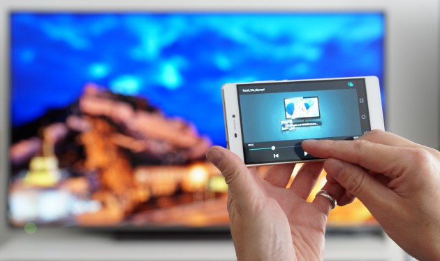 Medienwiedergabe von Android Devices auf TV