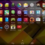 Übersicht der installierten Apps