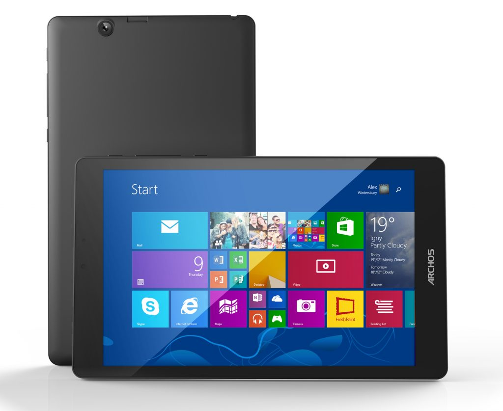 Test: Archos 80 Cesium – günstiges 8-Zoll-Tablett mit IPS-Panel, Windows 8.1 und Office 365