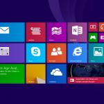 Kacheloberfläche von Windows 8.1