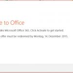 Office 365 Lizenz